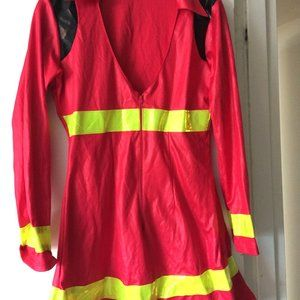 Sexy Adult Firefighter Halloween Costume